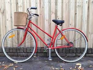 Amazing Vintage Red Bicycle Fairlight Manly Area Preview