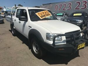 2008 Ford Ranger PJ 07 Upgrade XL (4x2) White 5 Speed Manual Dual Cab Pick-up Lansvale Liverpool Area Preview