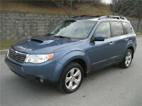 2010 SUBARU FORESTER 2.5XT LIMITED (AWD, CUIR, TOIT PANO, MAGS!)