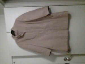 WOMEN SIZE S TO M POLO STYLE CAMEL HAIR COAT BEIGE