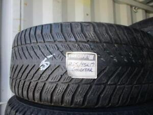 225/45 R17 GOODYEAR ULTRA GRIP USED TIRE (ONLY 1) - APPROX. 75% TREAD