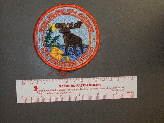 Boy Scout Maine High Adventure Base 20th Anniversary 2398W