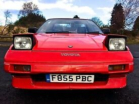 Classic MR2 Mk1 T-bar, ready for the summer!