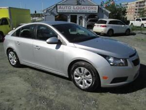 2013 Chevrolet Cruze LT SEDAN Turbo/AUTOMATIC $46 WKLY