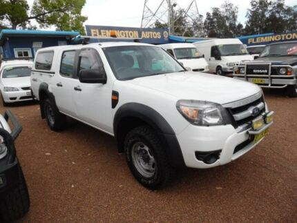 2010 Ford Ranger PK XL (4x4) White 5 Speed Automatic Dual Cab Pick-up