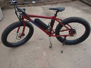 FAT TYRE MTB Electric Power-Assist Bike NEW Battery. Manunda Cairns City Preview