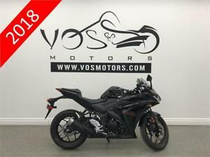 2018 Yamaha YZF-R3JB - V3318 - No Payments For 1 Year**