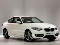 2016 BMW 2 SERIES DIESEL COUPE