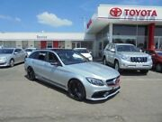 2015 Mercedes-Benz C63 W204 MY14 AMG Silver 7 Speed Automatic G-Tronic Wagon Belmore Canterbury Area Preview