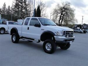 2002 FORD F-250 SUPER DUTY XLT EXTENDED CAB SHORT BOX 4X4 ** LI