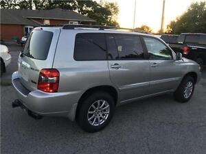 2005 TOYOTA HIGHLANDER 4WD 7SEAT  LEATHER CERTIFIED&E-TEST London Ontario image 3