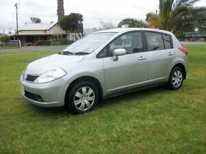 2007 Nissan Tiida C11 ST 4 Speed Automatic Hatchback Alberton Port Adelaide Area Preview