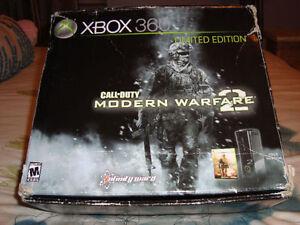 XBOX 360 LIMITED EDITION CALL OF DUTY MODERN WARFARE 2