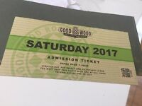 4 x Goodwood revival tickets Saturday 9th September SOLD OUT
