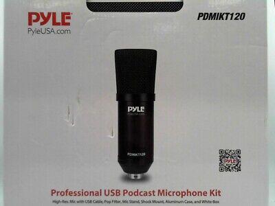 Pyle PDMIKT120 Pro Audio Recording Computer Microphone Kit w/ Travel Case