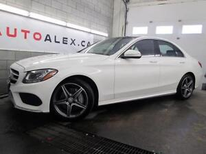 2015 Mercedes C300 AMG SPORT NAVIGATION 4MATIC 2.99%*