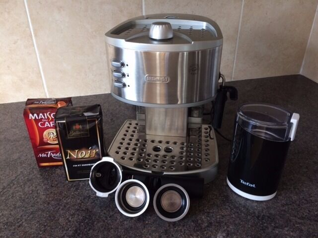 DeLonghi EC330S Multi Beverage Coffee MachineStainless Steelin Plymouth, DevonGumtree - Delonghi Coffee Machine (EC330S) VGC RRP £149 when new. Includes Tefal Grinder (GT203)RRP £19 and 2 packs of coffee. Buyer collects, Eggbuckland area 01752 767810 No Offers This DeLonghi EC330S coffee maker has a brushed stainless steel finish that...