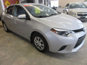 2014 Toyota Corolla $36 WEEKLY Sedan