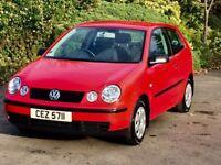 Volkswagen polo 1.2 E Full Years mot 6 months Warranty tel 07554374590
