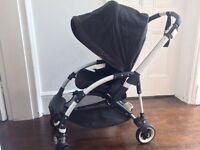 Bugaboo Bee+ plus with hood (Black)