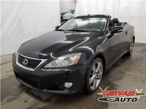 Lexus IS250C Convertible Cuir MAGS 2010