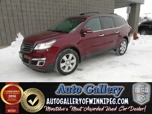 2016 Chevrolet Traverse LT * AWD Roof/B.Cam