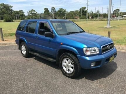 2002 Nissan Pathfinder Blue Automatic Wagon