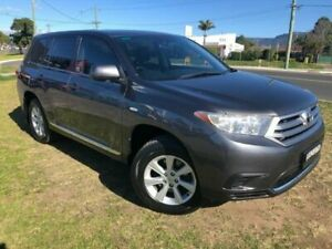 2010 Toyota Kluger GSU40R KX-R (FWD) 7 Seat Grey 5 Speed Automatic Wagon Dapto Wollongong Area Preview