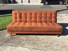 Vintage retro sofa bed Fairlight Manly Area Preview
