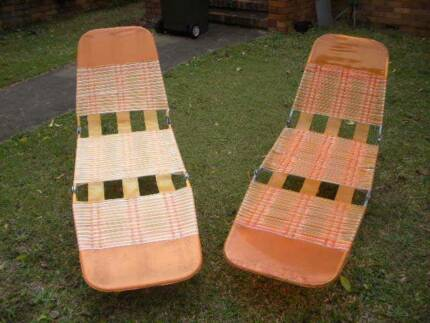 70s Outdoor Lounge Chairs $28 each