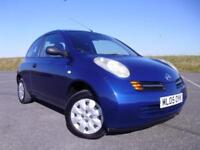 Nissan Micra 1.2 16v S 3 door, A LOVELY LOW MILEAGE EXAMPLE ! NEW MOT !