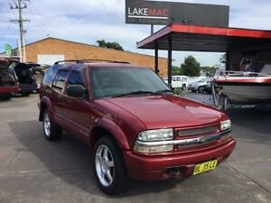 2000 Chevrolet Blazer LS Burgundy Automatic Wagon Boolaroo Lake Macquarie Area Preview