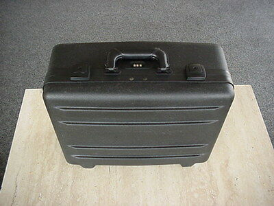 PARKER COMMERCIAL HDPE POLY UTILITY GUN CASE CONSTRUCTION KEY & COMBO LOCK