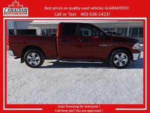 2010 Dodge Ram Quad Cab 1500 SLT Remote starter 4X4 REDUCED