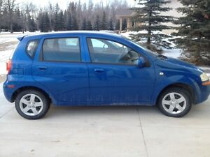 2005 Chevrolet Aveo Loaded - BLUE or YELLOW!