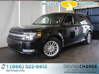 2014 Ford Flex SEL-AWD-Moon Roof-Nav-Heated Leather Seats