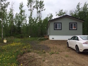 ATHABASCA Brand New Mobile Home and lot for sale