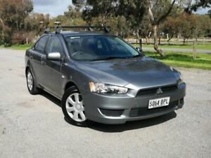 2013 Mitsubishi Lancer CJ MY13 ES Grey 5 Speed Manual Sedan Mile End South West Torrens Area Preview