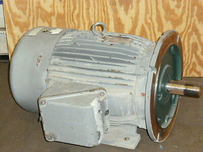 Used Tested Working Toshiba Electric Motor 50hp 3 Phase 1770 Rpm 460 Volts Only