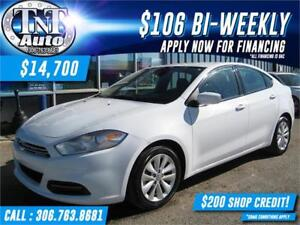 2015 Dodge Dart AERO-NAVIGATION-BACK UP CAMERA-LOW KMS-APPLY NOW