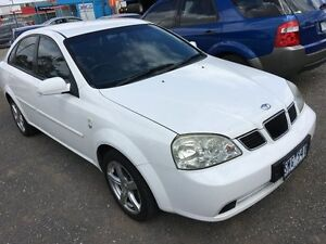 2003 Daewoo Lacetti J200 J200 4 Speed Automatic Sedan Hoppers Crossing Wyndham Area Preview