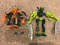 2 x LEGO Bionicle Figures