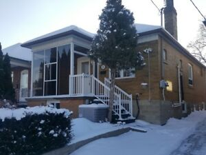 Large two bedroom Main and Upper Floor Dufferin Eglinton