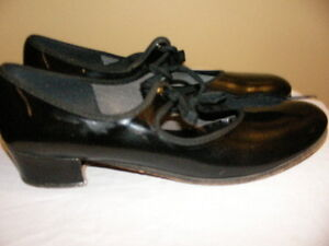 Capezio Black Leather Dance Shoes-Size 6 Regina Regina Area image 3