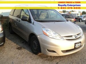 2010 Toyota Sienna CE    LEATHER DVD