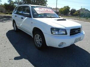 2004 Subaru Forester MY05 XT Luxury White 4 Speed Automatic Wagon Nailsworth Prospect Area Preview