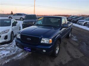 """2009 Ford Ranger 2WD SuperCab 126"""" Sport ONLY 57,000 KM"""