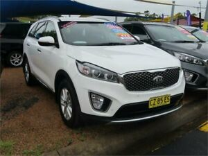 2017 Kia Sorento UM MY17 Si AWD White 6 Speed Sports Automatic Wagon Minchinbury Blacktown Area Preview