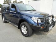 2011 Nissan Navara D40 ST (4x4) Blue 6 Speed Manual Dual Cab Pick-up Woodville Charles Sturt Area Preview