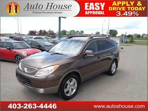2010 Hyundai Veracruz GLS Leather, Sunroof, 2DVD